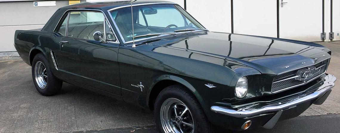 Ford Mustang 1965 289 V8 C4 Automatik Westendgarage
