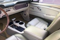 Ford-Mustang-V8-1965-Interior-Sitze-Sitzbank-Lenkrad-6